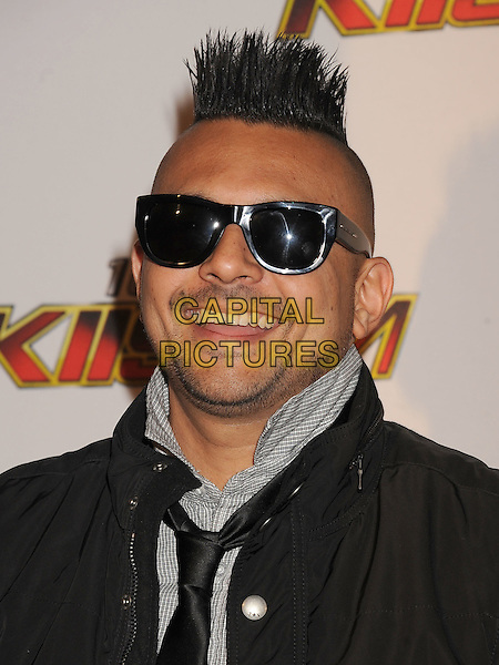 Sean Paul.The 102.7 KIIS FM's Jingle Ball at the Nokia Theatre L.A. Live in Los Angeles, California, USA..December 3rd, 2011.headshot portrait black sunglasses shades stubble facial hair.CAP/ROT/TM.©Tony Michaels/Roth Stock/Capital Pictures