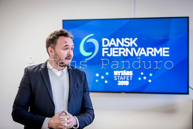 Dansk Fjernvarmes Nytårsstafet. Dan Jørgensen talte til Dansk Fjernvarmes Nytårsstafet 2019<br /> Foto: Jens Panduro
