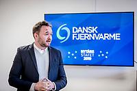 Dansk Fjernvarmes Nyt&aring;rsstafet. Dan J&oslash;rgensen talte til Dansk Fjernvarmes Nyt&aring;rsstafet 2019<br /> Foto: Jens Panduro