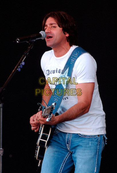 STEVE AZAR.performs on day four of the 31st Annual Jamboree In The Hills 2007,  Morristown, Ohio, USA, 22 July 2007..half length music country gig concert guitar.CAP/ADM/JN.©Jason L Nelson/AdMedia/Capital Pictures.