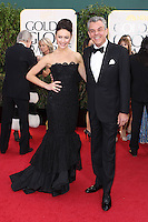 BEVERLY HILLS, CA - JANUARY 13: Olga Kurylenko and Danny Huston at the 70th Annual Golden Globe Awards at the Beverly Hills Hilton Hotel in Beverly Hills, California. January 13, 2013. Credit MediaPunch Inc. /NortePhoto