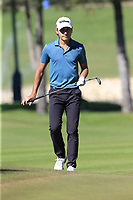 Joakim Lagergren (SWE) at the 17th green during Friday's Round 2 of the 2018 Turkish Airlines Open hosted by Regnum Carya Golf &amp; Spa Resort, Antalya, Turkey. 2nd November 2018.<br /> Picture: Eoin Clarke | Golffile<br /> <br /> <br /> All photos usage must carry mandatory copyright credit (&copy; Golffile | Eoin Clarke)