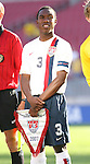 United States' Mykell Bates on Sunday, March 25th, 2007 at Raymond James Stadium in Tampa, Florida. The United States Men's Under 17 National Team defeated El Salvador in a U-17 international friendly.