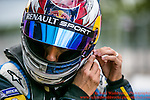 9 Sebastien Buemi (CHE)  Renault e.Dams  FormulaE Test Day Donnington Park  10th August 2015<br /> <br /> Photo:  - Richard Washbrooke Photography
