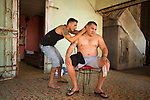Malecon Haircut, Havana 2013