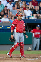 Catcher Tony Cruz of the Palm Beach Cardnials during the Florida State League All Star Game on June 12 2010 at Space Coast Stadium in Viera, FL (Photo By Scott Jontes/Four Seam Images)