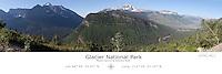 Glacier National Park with Latitude and Longitude