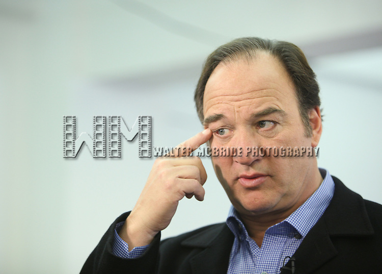 Jim Belushi.attending the meet & greet for the upcoming Broadway Revival of 'Born Yesterday' at the Roundabout Rehearsal Studios in New York City.