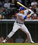 12 September 2008: Kansas City Royals' first baseman Kila Ka'aihue in action against the Cleveland Indians at Progressive Field in Cleveland, Ohio. The Indians defeated the Royals 12-5 in the first game of their 4-game series...Mandatory Photo Credit: Ed Wolfstein Photo