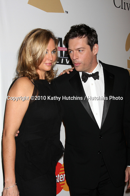 Harry Connick Jr.& Wife Jill.arriving at the Clive Davis Pre-Grammy Party .Beverly Hilton Hotel.Beverly Hills, CA.January 30, 2010.©2010 Kathy Hutchins / Hutchins Photo....