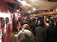 (180314MCAS41) About 200 people attended the opening of La Esquina - The Corner exhibition at Gala Theatre. Washington DC March 14, 2018 . © Miguel Castro 2018     email   rick@rickreinhard.com