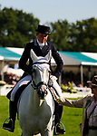 1st September 2017. Sophie Brown (GBR) riding Wil during the Dressage Phase of the 2017 Land Rover Burghley Horse Trials, Stamford, United Kingdom. Jonathan Clarke/JPC Images