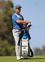Bradley Neil (SCO) on the 18th fairway during Round 1 of the ISPS Handa World Super 6 Perth at Lake Karrinyup Country Club on the Thursday 8th February 2018.<br /> Picture:  Thos Caffrey / www.golffile.ie<br /> <br /> All photo usage must carry mandatory copyright credit (&copy; Golffile | Thos Caffrey)
