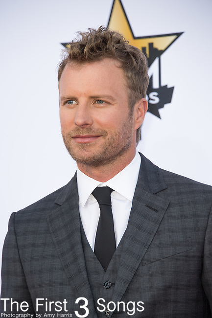 Dierks Bentley attends the 50th Academy Of Country Music Awards at AT&T Stadium on April 19, 2015 in Arlington, Texas.