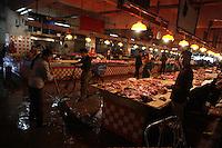 The Shenzhen Buji agriculture market.<br /> Shenzhen, China