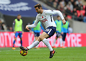 5th November 2017, Wembley Stadium, London England; EPL Premier League football, Tottenham Hotspur versus Crystal Palace; Fernando Llorente of Tottenham Hotspur in action
