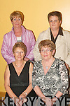 LADIES CHOICE: Supporting the O'Rahillys Villas, Strand Road Christmas party in the Brandon hotel last Saturday night were seated l-r: Mary McCarthy and Gene Heaslip. Standing l-r: Joan O'Leary and Patsy Doyle.   Copyright Kerry's Eye 2008