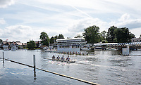 Henley on Thames. United Kingdom.  Agecroft [8] and the quad from  Abington School, training on Henley Reach, Monday,  27/06/2016,   16:12:51   2016 Henley Royal Regatta, Henley Reach.   [Mandatory Credit Peter Spurrier/ Intersport Images]