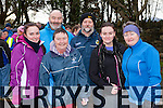 Anna Bergen, Mick Connell, Mags Connell, Paul Connell, Aine Connell and Ann Bergen Castleisland at the Operation Transformation walk in Killarney on Saturday morning