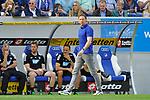 Hoffenheims Trainer Julian Nagelsmann  beim Spiel in der Fussball Bundesliga, TSG 1899 Hoffenheim - Hamburger SV.<br /> <br /> Foto &copy; PIX-Sportfotos *** Foto ist honorarpflichtig! *** Auf Anfrage in hoeherer Qualitaet/Aufloesung. Belegexemplar erbeten. Veroeffentlichung ausschliesslich fuer journalistisch-publizistische Zwecke. For editorial use only.