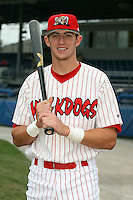 Sept. 5th, 2007:  Travis Mitchell of the Batavia Muckdogs, Short-Season Class-A affiliate of the St. Louis Cardinals at Dwyer Stadium in Batavia, NY.  Photo by:  Mike Janes/Four Seam Images