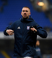 Ipswich Town's Luke Chambers during the pre-match warm-up <br /> <br /> Photographer Hannah Fountain/CameraSport<br /> <br /> The EFL Sky Bet Championship - Ipswich Town v Wigan Athletic - Saturday 15th December 2018 - Portman Road - Ipswich<br /> <br /> World Copyright © 2018 CameraSport. All rights reserved. 43 Linden Ave. Countesthorpe. Leicester. England. LE8 5PG - Tel: +44 (0) 116 277 4147 - admin@camerasport.com - www.camerasport.com