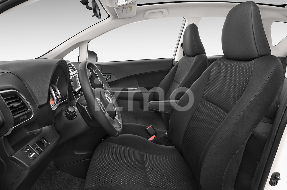 Front seat view of a 2015 Toyota Verso-S skyview 5 Door Hatchback 2WD Front Seat car photos