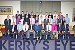 AWARDS: The Kerry All Ireland minor hurling champions at their awards ceremony at the Manor West hotel, Tralee on Saturday.