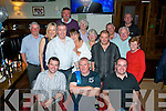 John Murphy, Castlemorris Terrace, Tralee (seated centre) had a great night in Gally's, Tralee last Saturday celebrating his 50th birthday surrounded by many friends and family.