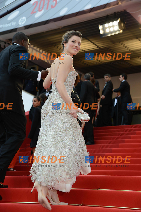 Jessica Biel .Cannes 19/5/2013 .Festival del Cinema di Cannes .Foto Panoramic / Insidefoto .ITALY ONLY