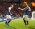 Leigh Griffiths and Andy Robertson
