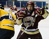 Matt Lombardi (BC - 24) - The Merrimack College Warriors defeated the Boston College Eagles 5-3 on Sunday, November 1, 2009, at Lawler Arena in North Andover, Massachusetts splitting the weekend series.