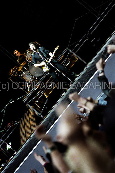 """Bruce Springsteen & E Street Band concert in Brussels during the """"Rising Tour"""" (Belgium, 12/05/2003)"""