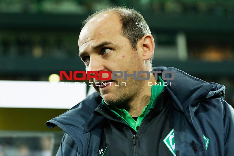 15.12.2015, Borussia Park, M&radic;&part;nchengladbach, GER, im Bild Viktor Skripnik (Trainer SV Werder Bremen)<br /> <br /> Foto &not;&copy; nordphoto / Rauch *** Local Caption ***