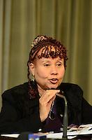 SAO PAULO, 29 DE JUNHO DE 2012 - COLETIVA MARTA SUPLICY -  deputada Janete Pieta em coletiva de imprensa que apresentou dados e informações sobre a questão da violência contra a mulher no Estado de São Paulo, na tarde desta sexta feira, na Assembleia Legislativa, regiao sul da capital. FOTO: ALEXANDRE MOREIRA - BRAZIL PHOTO PRESS