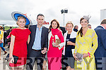 Enjoying Ladies Day at the Listowel Races on Friday were: Susan Quilter, Brian Corridan, Susan O'Donald, monica McNicoll, Roisin Bolger from Listowel