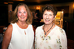 WATERBURY, CT-091318JS16--Artists Katie Piazza of Bethlehem and Anita Gregorski of Middlebury, at the Arts and Army fundraiser for the Greater Waterbury Salvation Army held at the Palace Theater in Waterbury. <br /> Jim Shannon Republican American