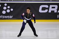 KUNSTSCHAATSEN: GRONINGEN: dec. 2010, Sportcentrum Kardingen, Open Nederlands Kampioenschap kunstrijden, Boyito Mulder, ©foto Martin de Jong