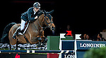 Scott Brash of United Kingdom riding Hello Annie competes at the Longines Speed Challenge during the Longines Hong Kong Masters 2015 at the AsiaWorld Expo on 13 February 2015 in Hong Kong, China. Photo by Xaume OIleros / Power Sport Images