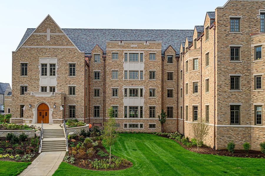 August 20, 2019; Baumer Hall (Photo by Matt Cashore/University of Notre Dame)