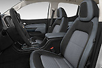 Front seat view of a 2015 Chevrolet Colorado Z71 Crew Cab 4 Door Pick Up Front Seat car photos