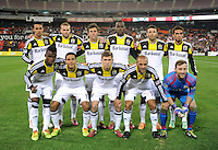 Washington D.C. - March 8, 2014: Columbus Crew Team Photo.  The Columbus Crew defeated D.C. United 3-0 during the opening game of the 2014 season at RFK Stadium.