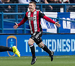 John Fleck of Sheffield Utd celebrates the first goal during the Championship match at the Hillsborough Stadium, Sheffield. Picture date 24th September 2017. Picture credit should read: Simon Bellis/Sportimage