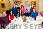 40th Birthday: Liam McInerney, Tarbert celebrating his 40th birthday with family & friends at the Listowel Arms Hotel on Saturday night last.
