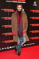 "Angel Caballero attends ""La Ignorancia de la Sangre"" Premiere at Capitol Cinema in Madrid, Spain. November 13, 2014. (ALTERPHOTOS/Carlos Dafonte) /NortePhoto nortephoto@gmail.com"