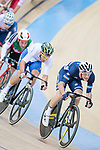 Morgan Kneisky of France competes in the Men's Madison 50 km Final during the 2017 UCI Track Cycling World Championships on 16 April 2017, in Hong Kong Velodrome, Hong Kong, China. Photo by Marcio Rodrigo Machado / Power Sport Images