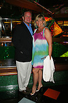 Kim Zimmer and husband AC Weary - Guiding Light Actors dress up for the Captain's Dinner aboard Carnival's Glory - Day 2 - August 1, 2010 - So Long Springfield at Sea - (Photos by Sue Coflin/Max Photos)