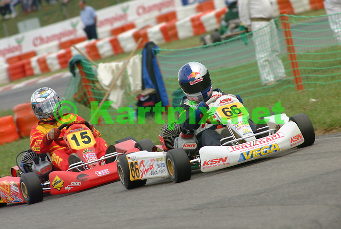 CIK, JICA, Sebastian Vettel, Red Bull, Junior Intercontinental A, St Amand, Karting. Sebastian Vettel, Karting
