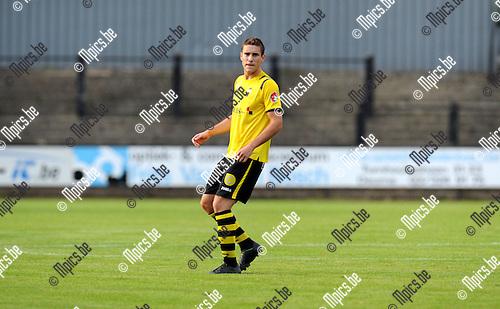 2013-09-15 / Voetbal / seizoen 2013-2014 / Berchem Sport / Matti Van Minnebruggen<br /><br />Foto: Mpics.be