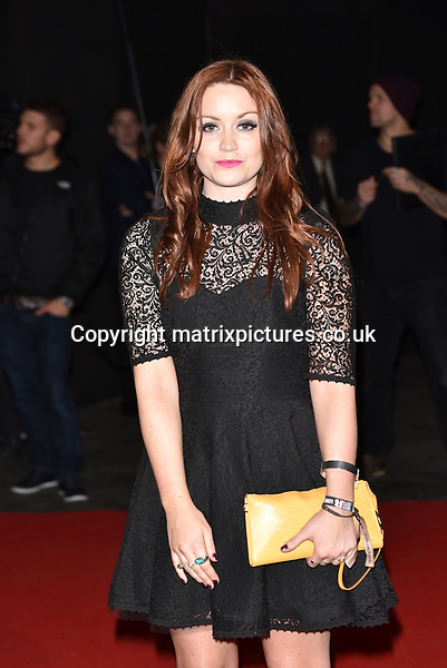 NON EXCLUSIVE PICTURE: MATRIXPICTURES.CO.UK<br /> PLEASE CREDIT ALL USES<br /> <br /> WORLD RIGHTS<br /> <br /> Scottish presenter Arielle Free attending The BRIT Awards 2015 Universal Music afterparty, at The Old Sorting Office in London. <br /> <br /> FEBRUARY 25th 2015<br /> <br /> REF: SLI 15637